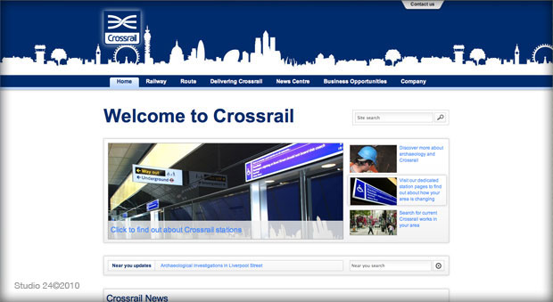 London Crossrail website