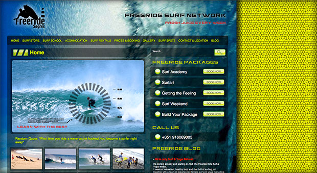 Freeride website